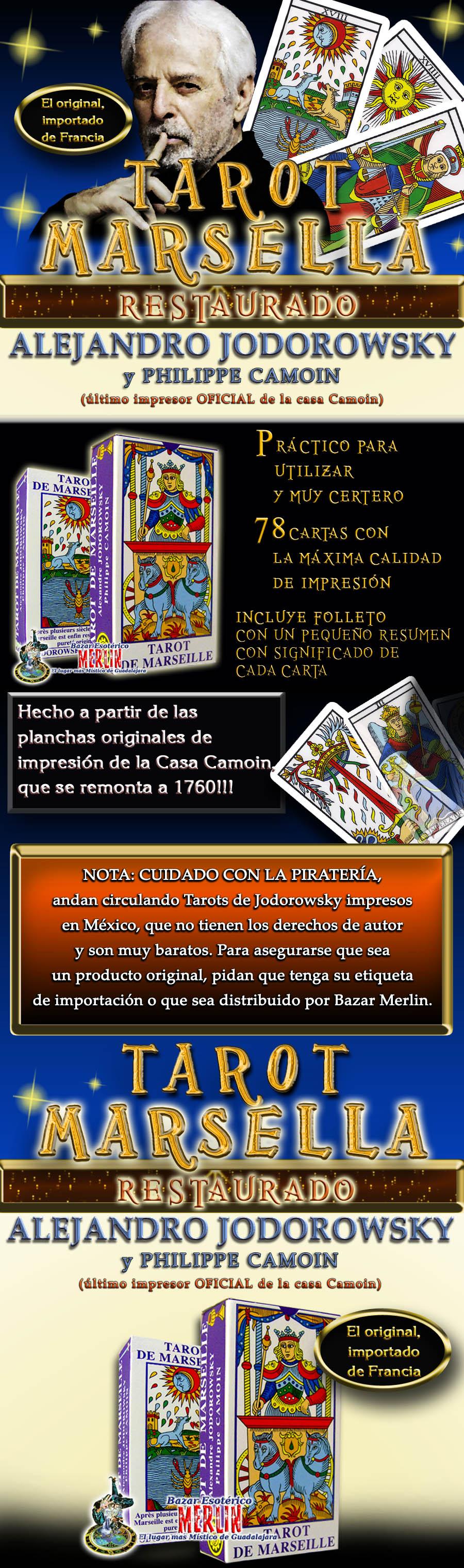 Tarot De Marsella Reconstruido Por Jodorowsky Diseno 01